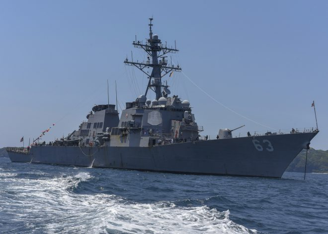 USS Stethem Heads to San Diego After 14 Years in Japan