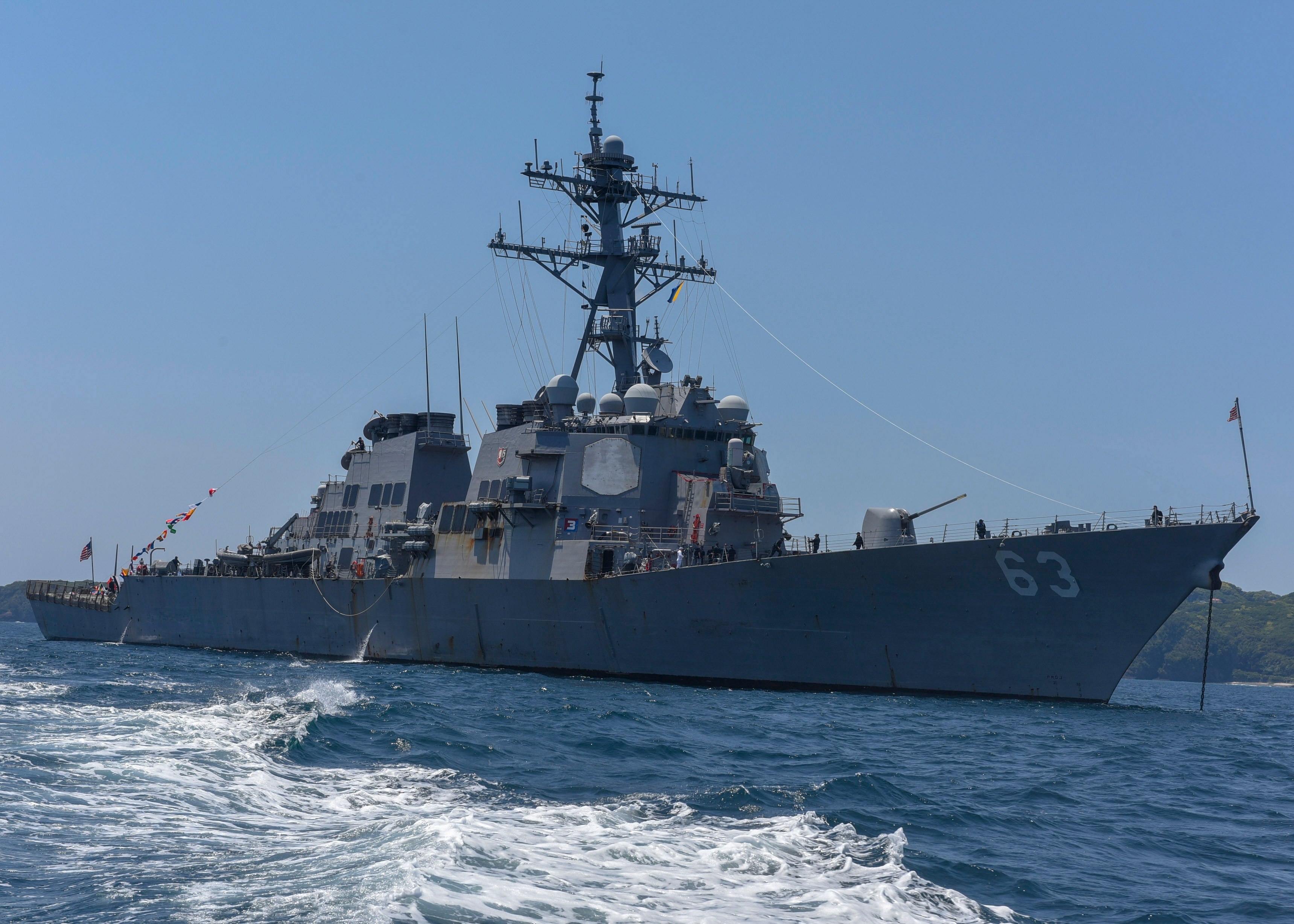 USS Stethem Heads to San Diego After 14 Years in Japan - USNI News