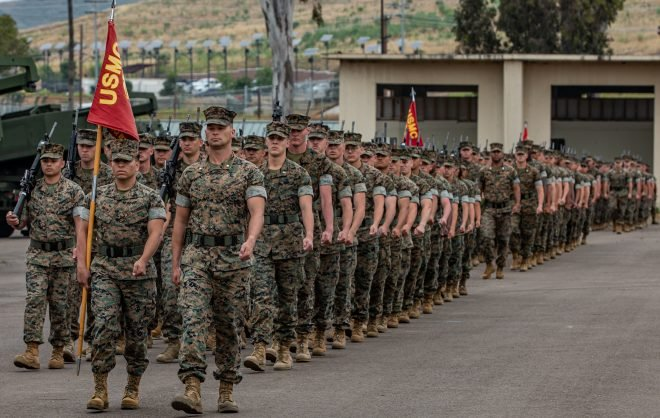 16 Marines Arrested for Alleged Human Smuggling, Drug-Related Offenses