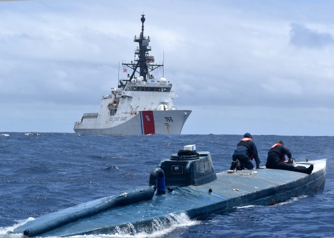 USCGC Munro Returns from Patrol with Record Cocaine Haul