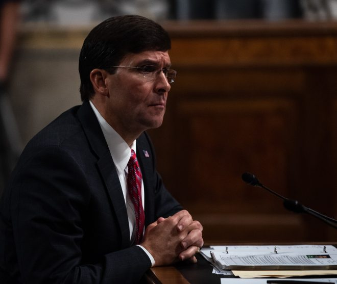 Mark Esper Sworn In as Next Defense Secretary