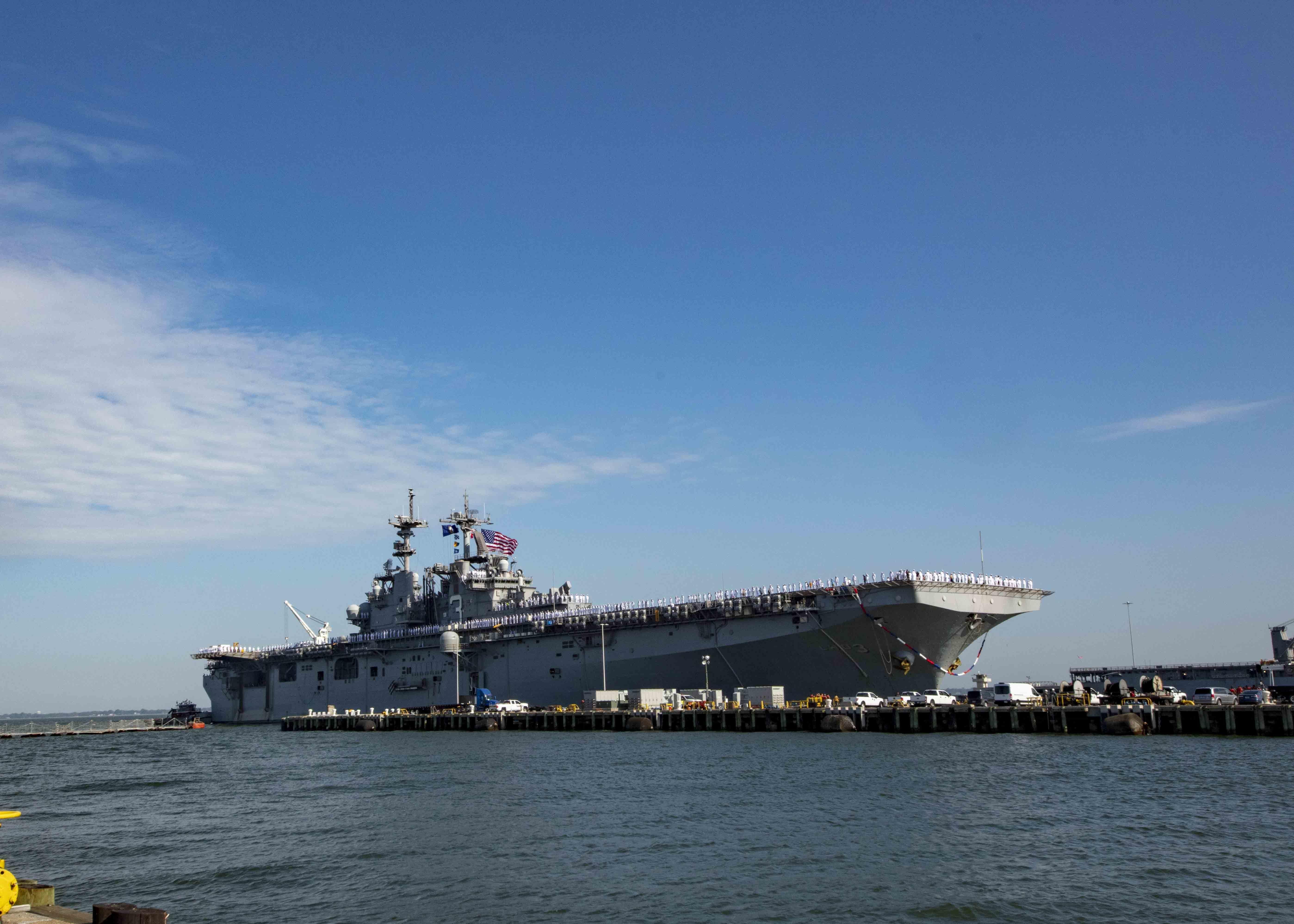 Kearsarge Returns to Norfolk After 7-Month Deployment - USNI News