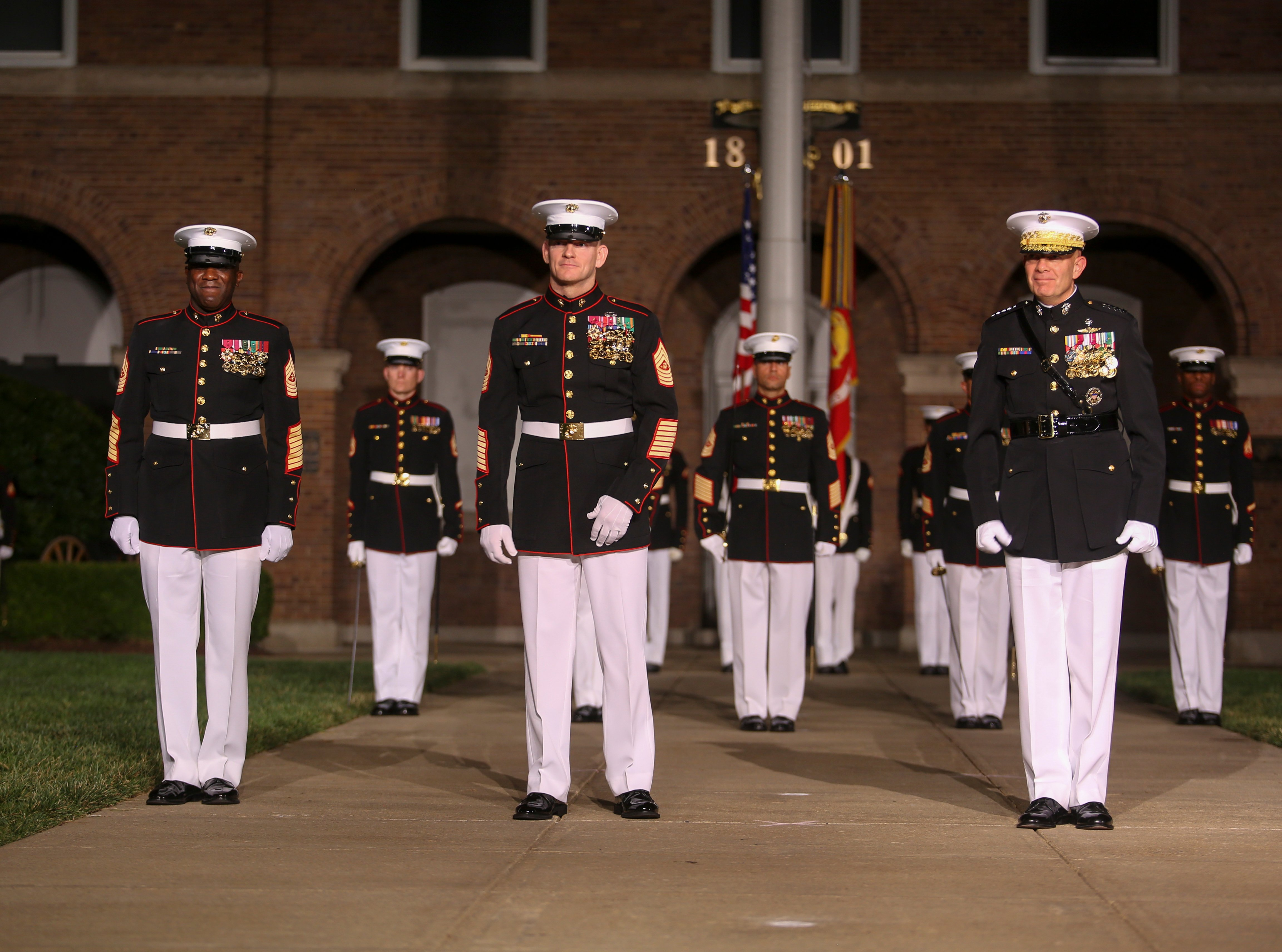 Sgt Maj Troy Black Takes Over As Top Enlisted Marine