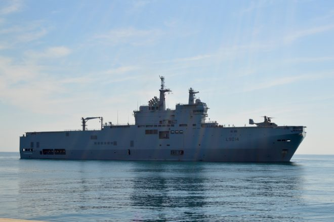 France Sending Amphib Tonnerre to Assist Lebanon After Explosion