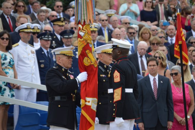 Berger Takes Command of Marine Corps, Neller Reflects on 45 Years of Service
