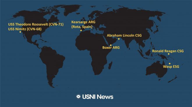 USNI News Fleet and Marine Tracker: July 1, 2019