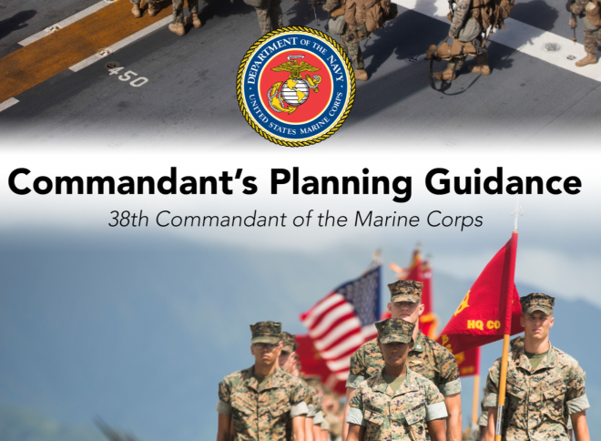 Gen. Berger's Strategic Guidance to the Marine Corps