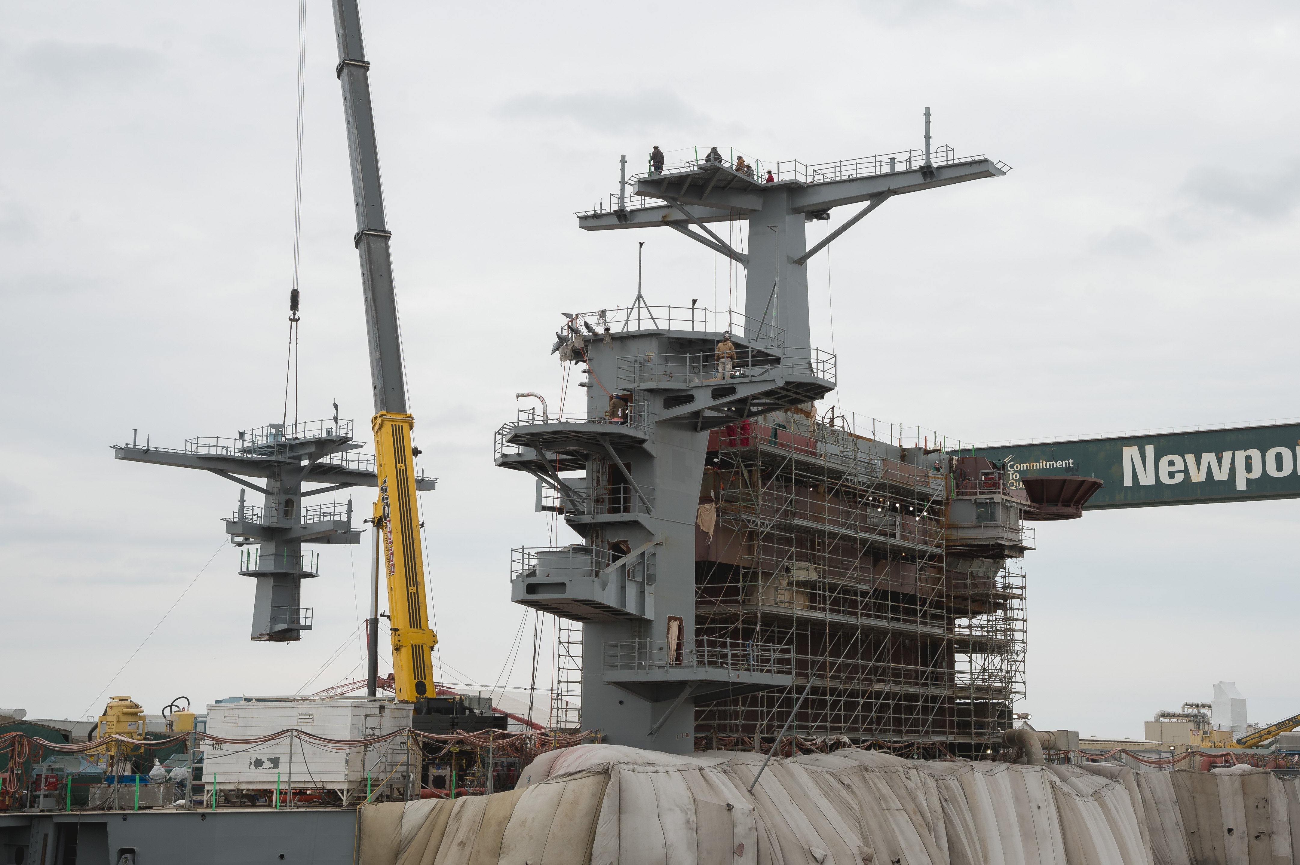 USS George Washington More Than Halfway Through RCOH, Will Leave Dry Dock Next Month - USNI News