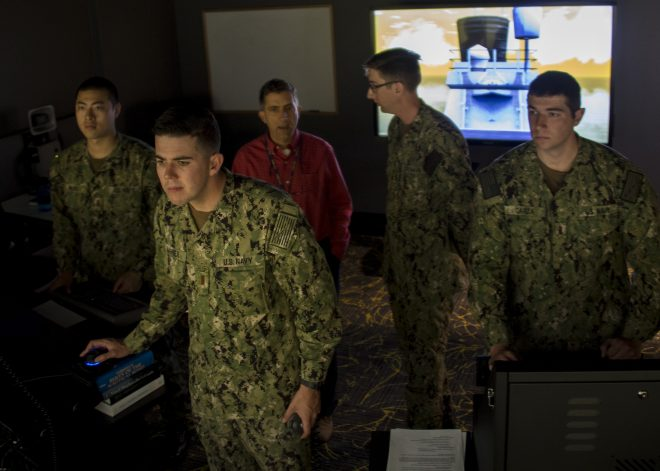 Navy Wants to Bolster Advanced Schoolhouse Training to Prep SWOs for Higher-Level Fight