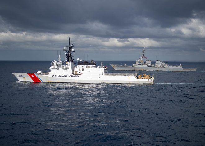 U.S. Coast Guard Mulling More Operations in Oceania