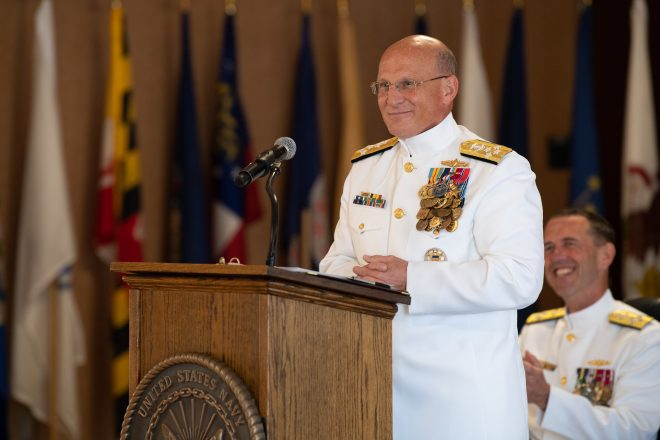 CNO Adm. Michael Gilday Takes Command