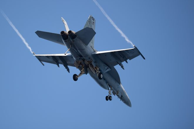 Navy Declares Pilot in Death Valley Super Hornet Crash Dead