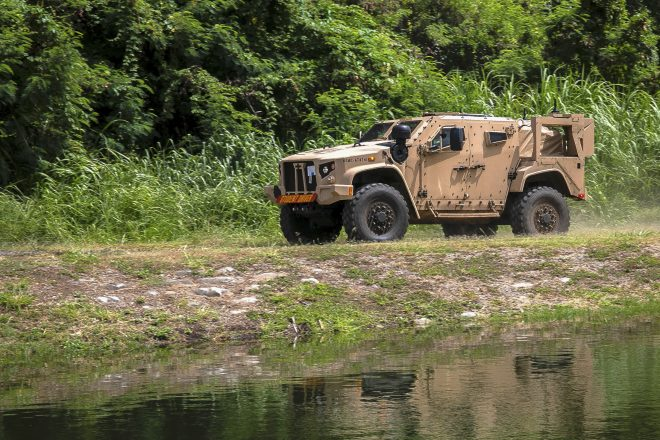Marines Declare Initial Operational Capability for JLTV