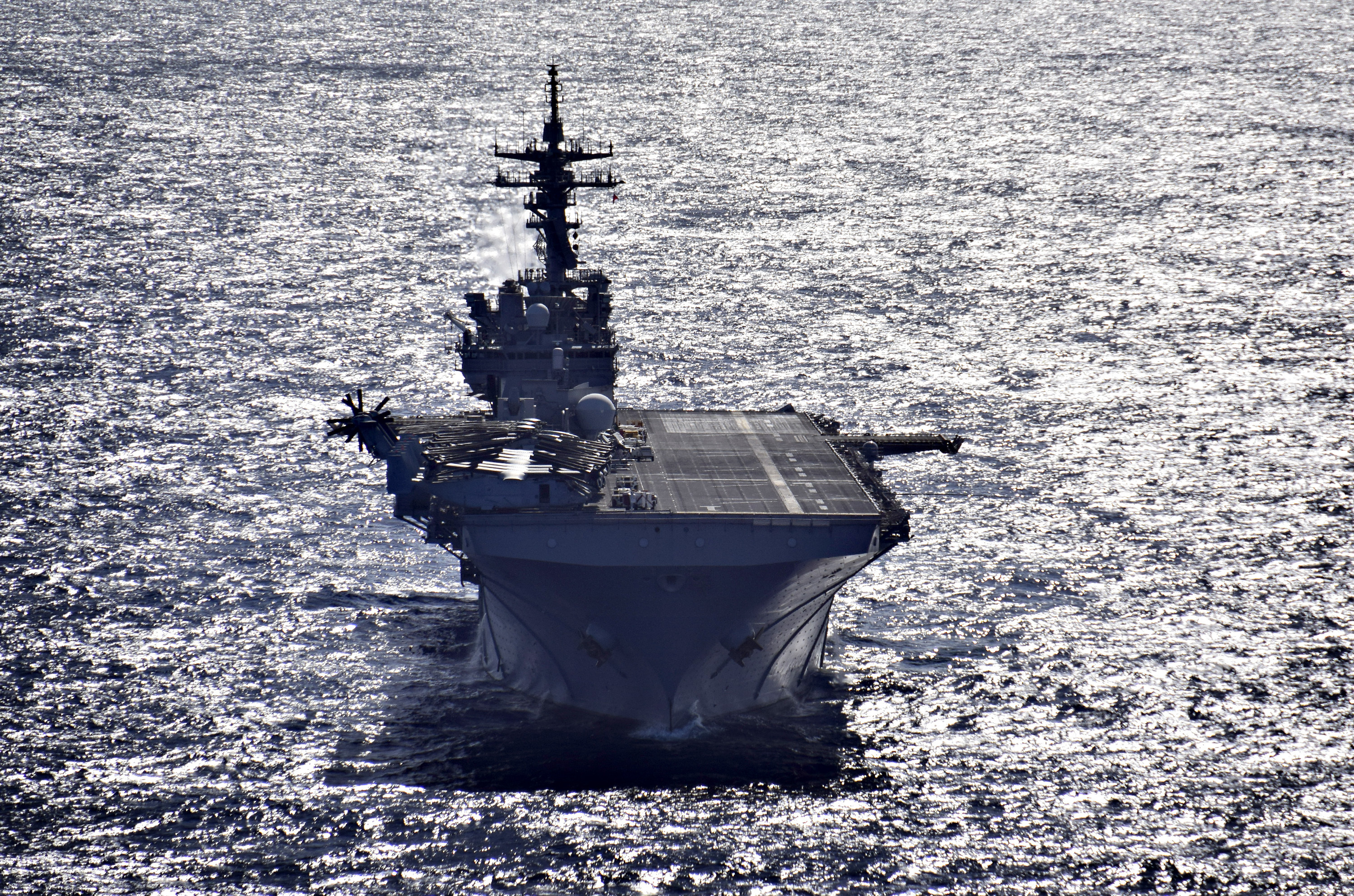 USS Wasp Heading to U S  in Homeport Shift