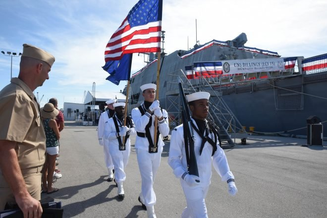 Newest Littoral Combat Ship USS Billings Joins The Fleet
