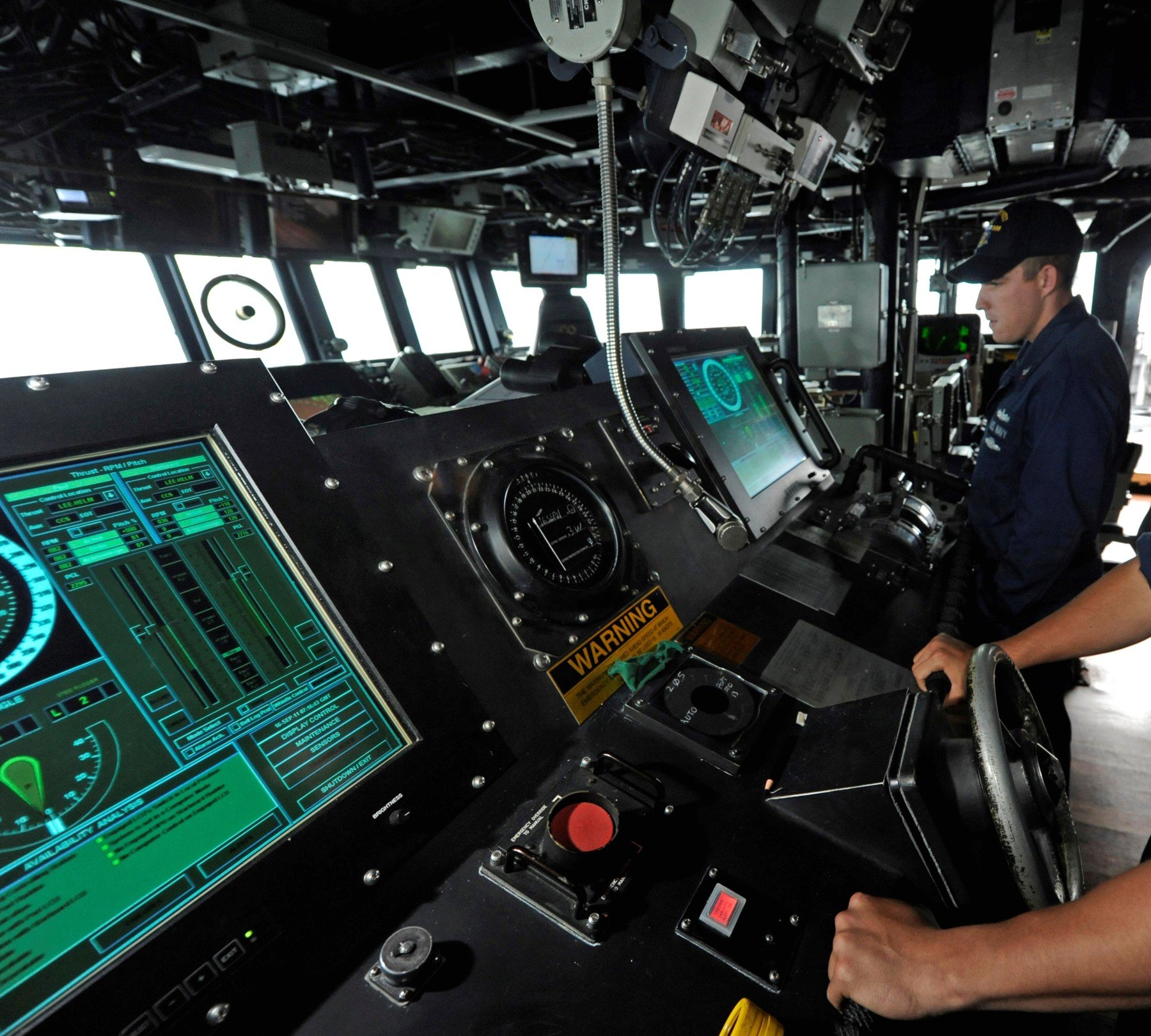 Image result for uss mccain crash touch screens