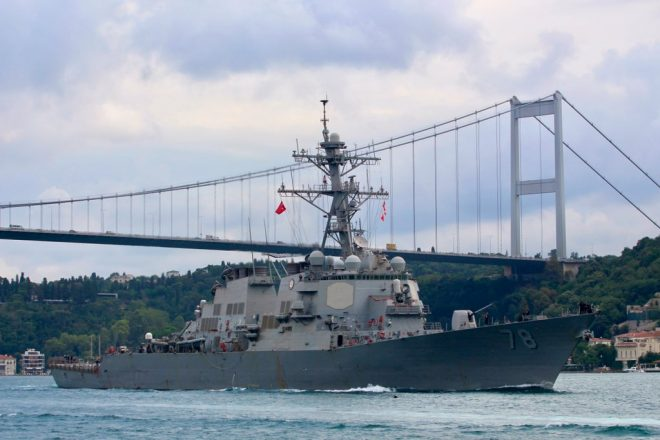 USS Porter Leaves Black Sea, Makes Port Call in Turkey