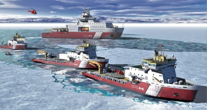 Six New Icebreakers To Be Built For Canadian Coast Guard