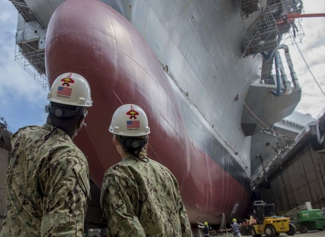 NAVSEA Harnessing Big Data to Dig Out of Ship Maintenance Backlog