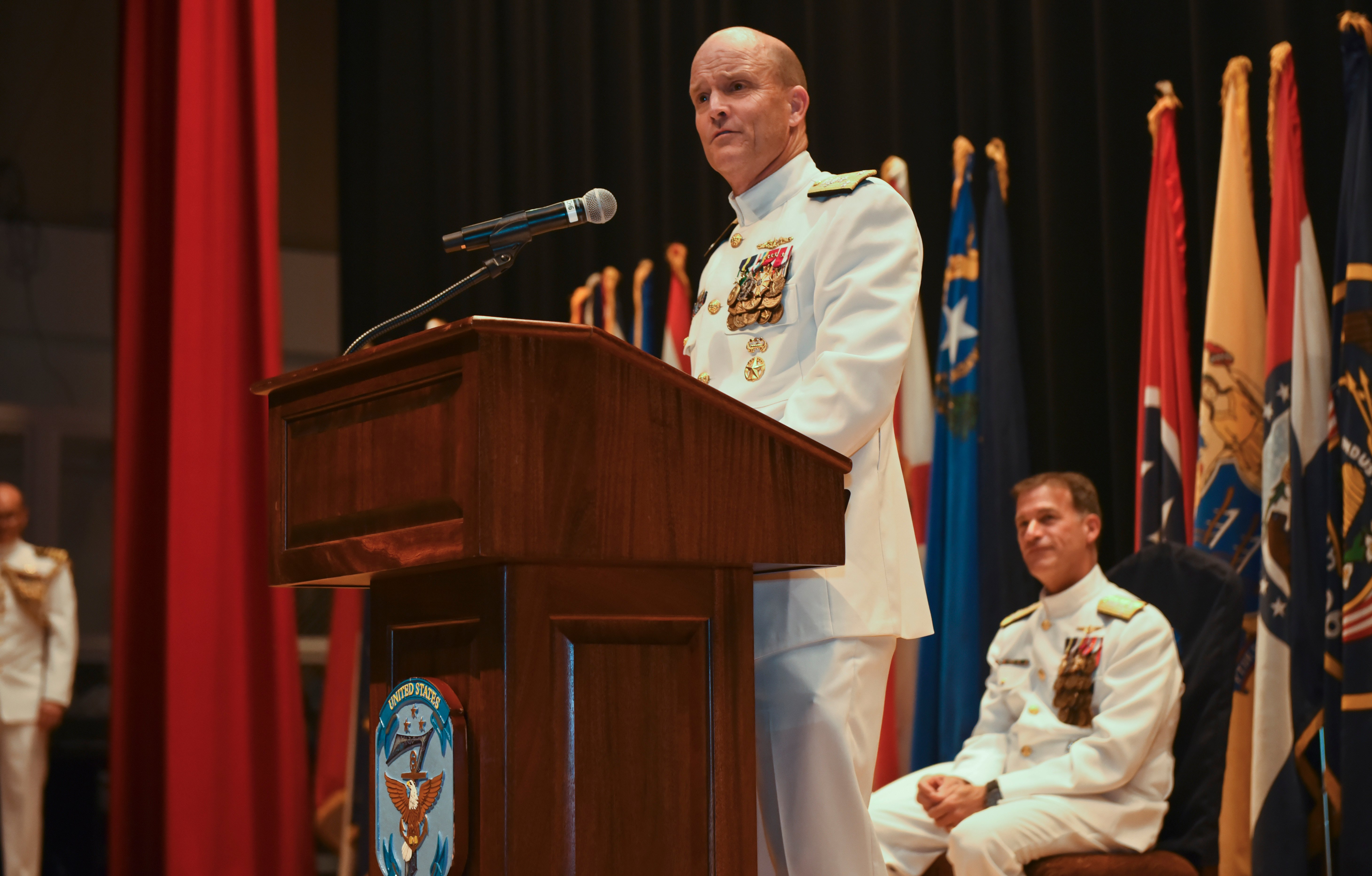 New U.S. 7th Fleet Commander Takes Charge - USNI News