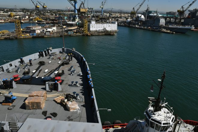 NAVSEA Considering Changing Pricing Of Ship Maintenance Awards