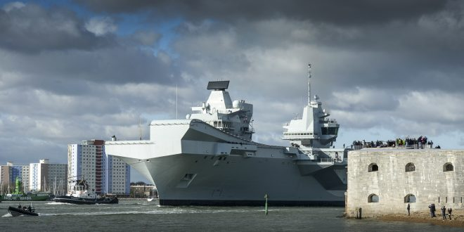 DSEI: New Carriers Sparking Royal Navy Renaissance