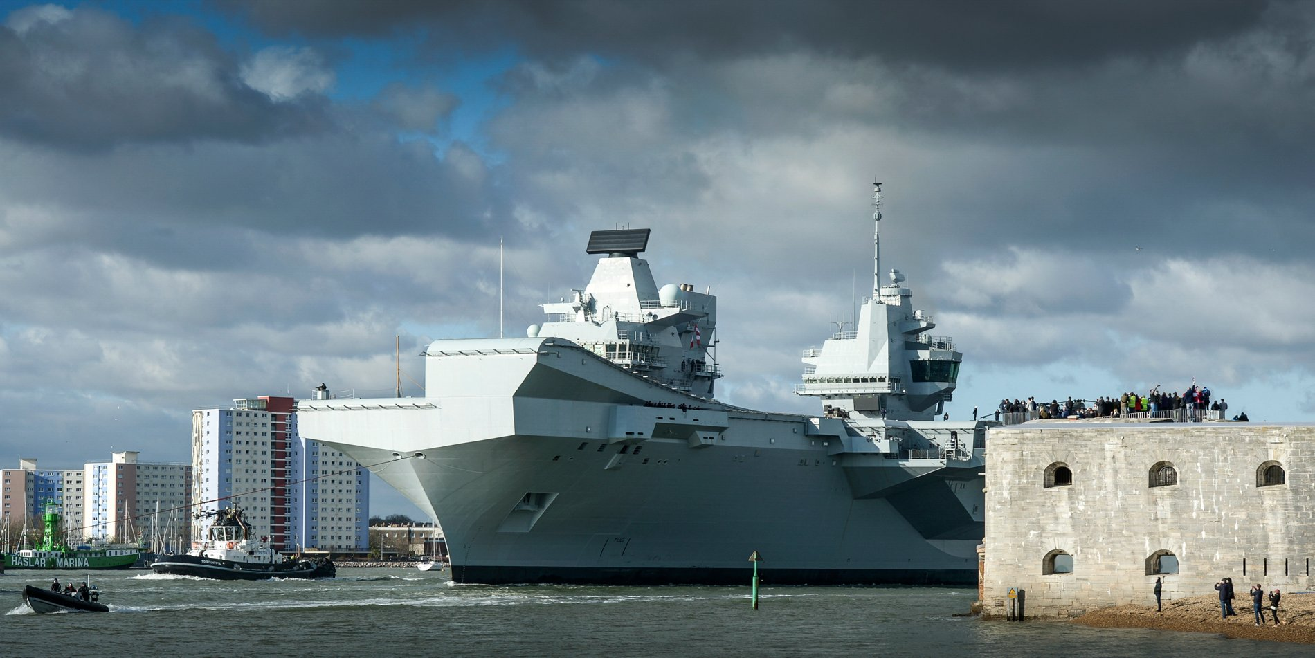 DSEI: New Carriers Sparking Royal Navy Renaissance