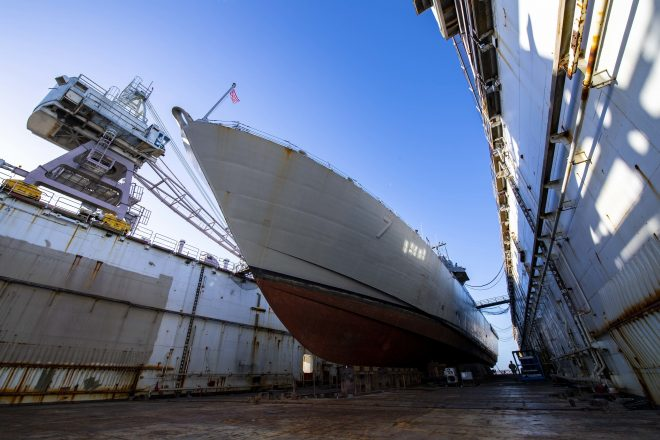 Continuing Resolution Forcing Navy to Delay Ship Maintenance, Curtail Training