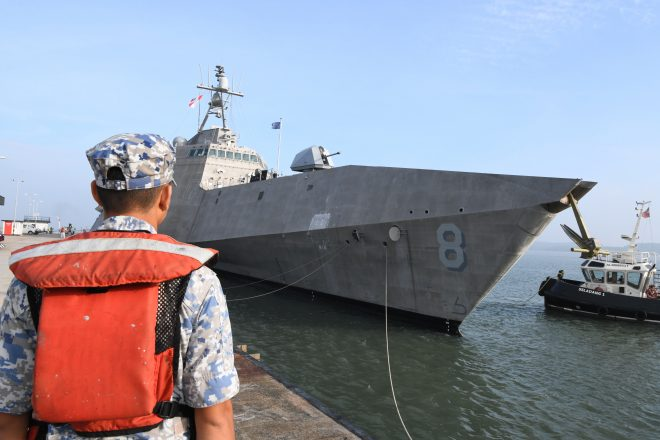 Navy: USS Montgomery Showcasing LCS Abilities During WESTPAC Deployment