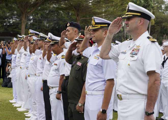 Inaugural AUMX Exercise Seeks to Deepen U.S.-ASEAN Maritime Cooperation
