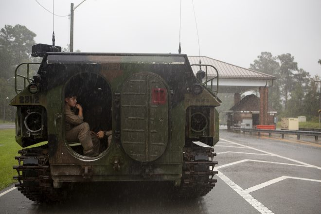 Carolina Marines Ride Out Hurricane Dorian