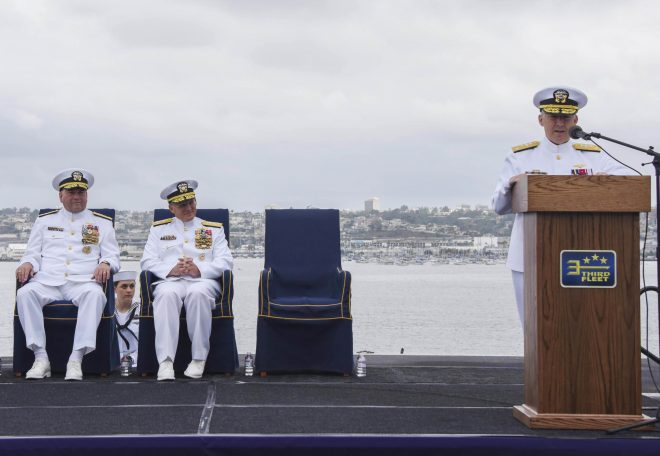 New 3rd Fleet CO Committed to Operating Forward to 'Preserve Peace'