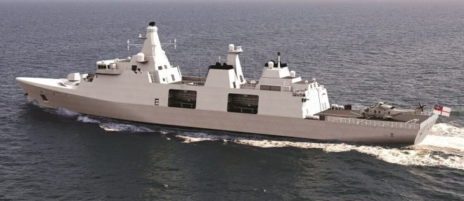 Arrowhead Wins Cost Battle in U.K. Type-31 Frigate Competition