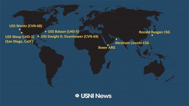 USNI News Fleet and Marine Tracker: Sept. 16, 2019
