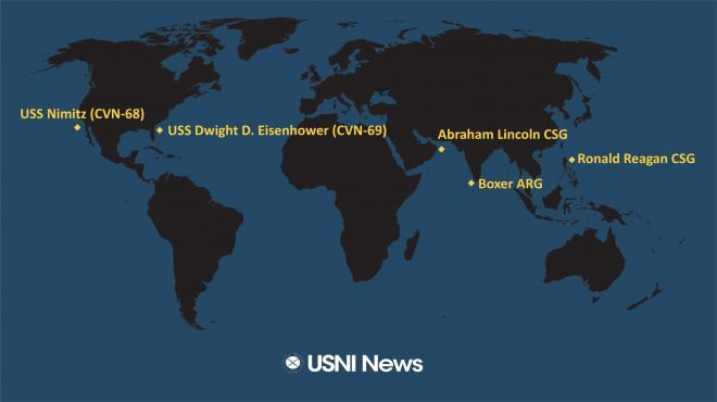 USNI News Fleet and Marine Tracker: Sept. 23, 2019