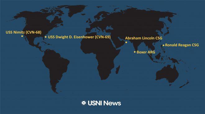 USNI News Fleet and Marine Tracker: Sept. 23, 2019