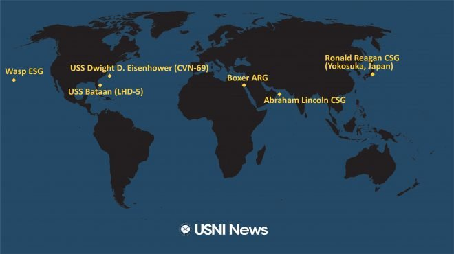 Fleet Tracker Archives - USNI News