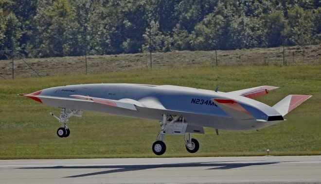 Video: MQ-25A Stingray Makes First Test Flight