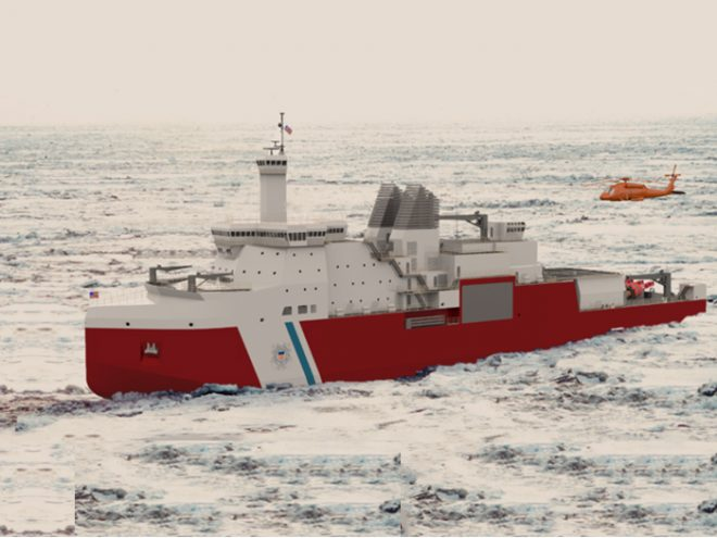 Polar Security Cutter Fuses Performance Requirements With Maintenance Needs