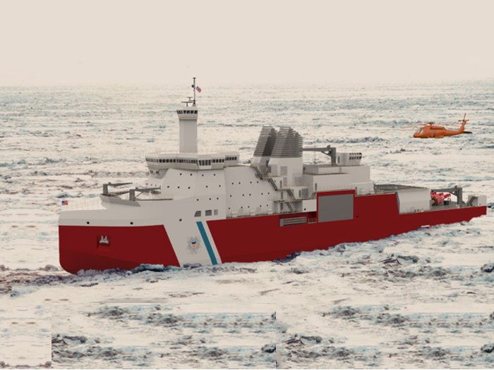 Polar Security Cutter Fuses Performance Requirements With Maintenance Needs - USNI News