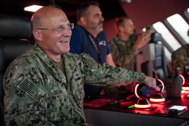 CNO Gilday to Release First Planning Guidance Soon, After Visiting Sailors Around the Globe