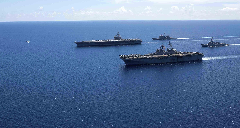 Оперативная сводка по дислокации американского флота на 9 октября.
