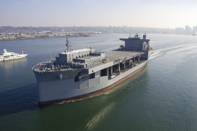 USNS Miguel Keith Delivered After Repairs to Fix Dry Dock Flooding Damage