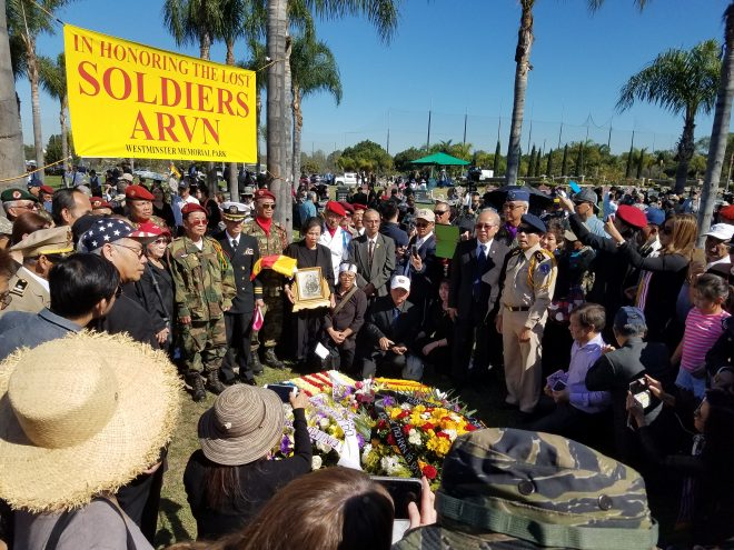 SECNAV Spencer, Jim Webb Honor Lost South Vietnamese Soldiers in California Ceremony