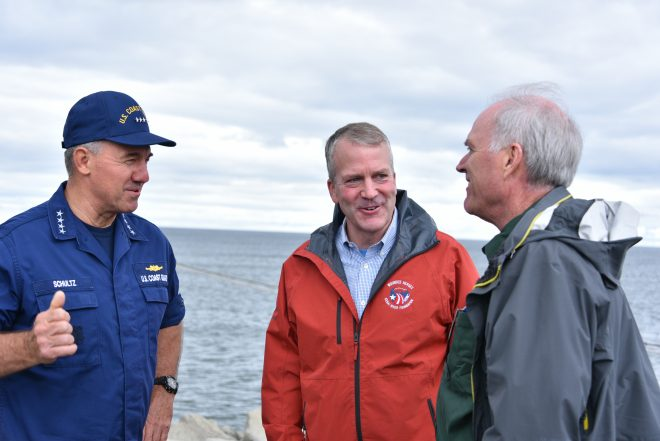 Coast Guard Focused On Being Sea-Based In Arctic As Merits Of Deep-Water Port Debated
