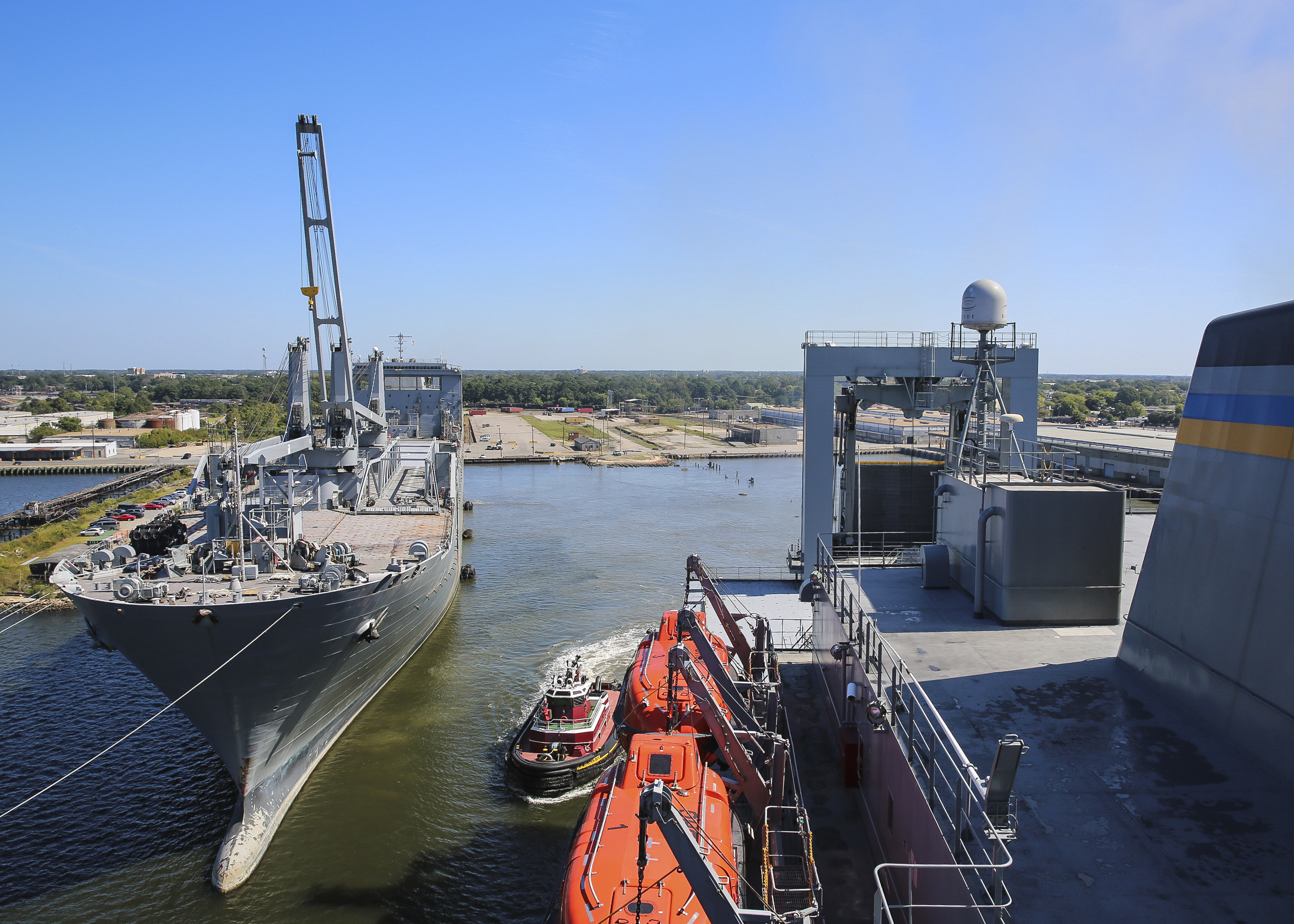 TRANSCOM Stress Test Practiced Cargo Delivery Through Mine- and Sub-Filled Waters - USNI News