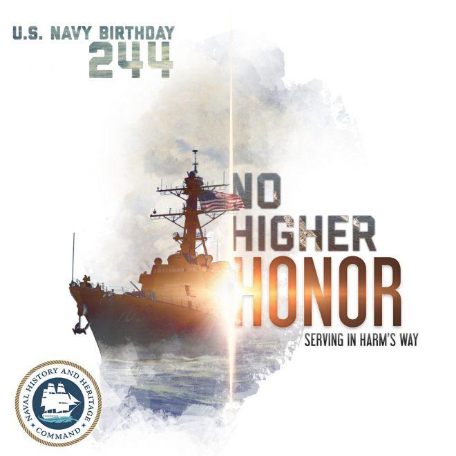 CNO, SECNAV 244th Navy Birthday Messages