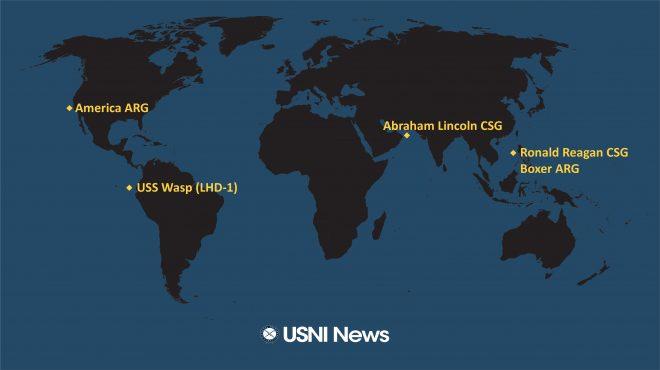 USNI News Fleet and Marine Tracker: Oct. 7, 2019