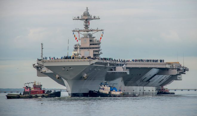 Report to Congress, Video on Gerald R. Ford Carrier Program
