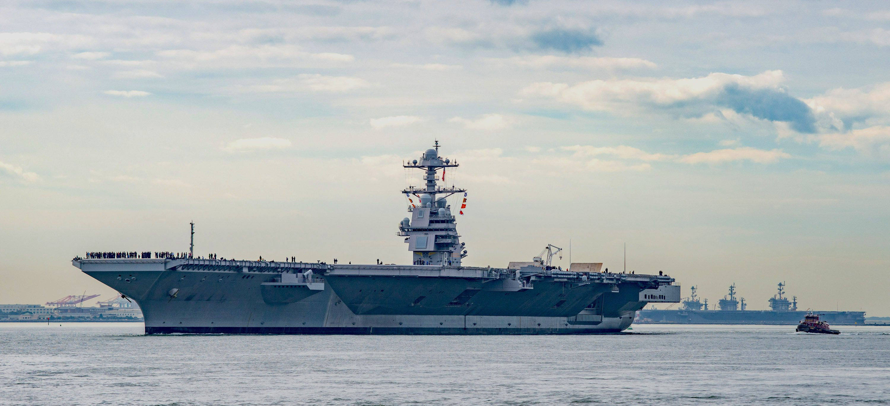 UPDATED: USS Gerald Ford Starts Sea Trials After More Than